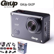 Original GitUp Git2P Action camera deportiva Novatek 96660 remote Ultra HD 2K WiFi 1080P 60fps sport pro camera F18817/8