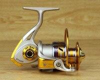 20 шт. металлическая спиннинговая Рыболовная катушка для ловли карпа Psca рыболовные снасти соотношение 5,5: 1 E1000 EF7000