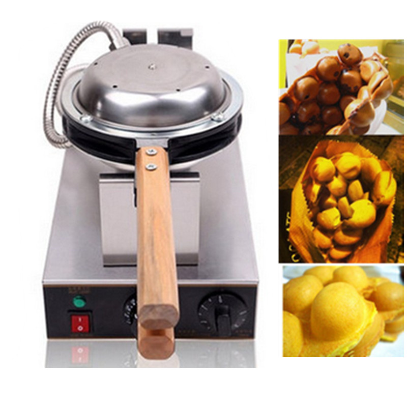 Commercial Electric Rotating Eggettes Waffle Maker Bubble Waffle And Warmer Display Mini Donut Maker Machine actory wholesale electric rotating commercial waffle maker 220v waffle maker price belgian waffle maker