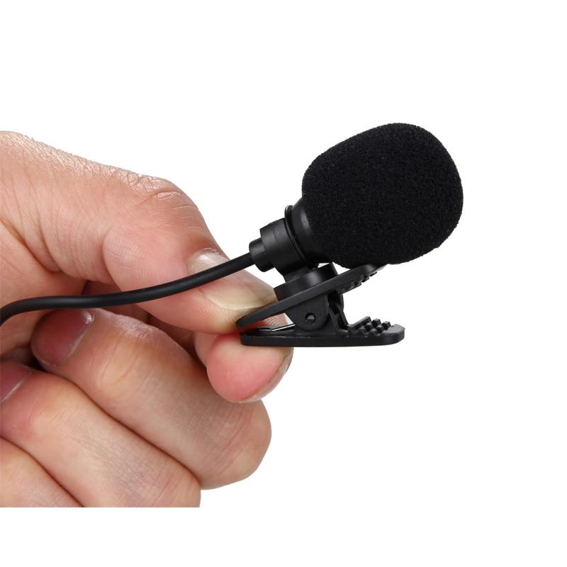 HANGRUI 3.5mm Wired Lapel microphone Studio lavalier condenser Microphones yaka mikrofonu for Smartphone Laptop micro cravate (4)
