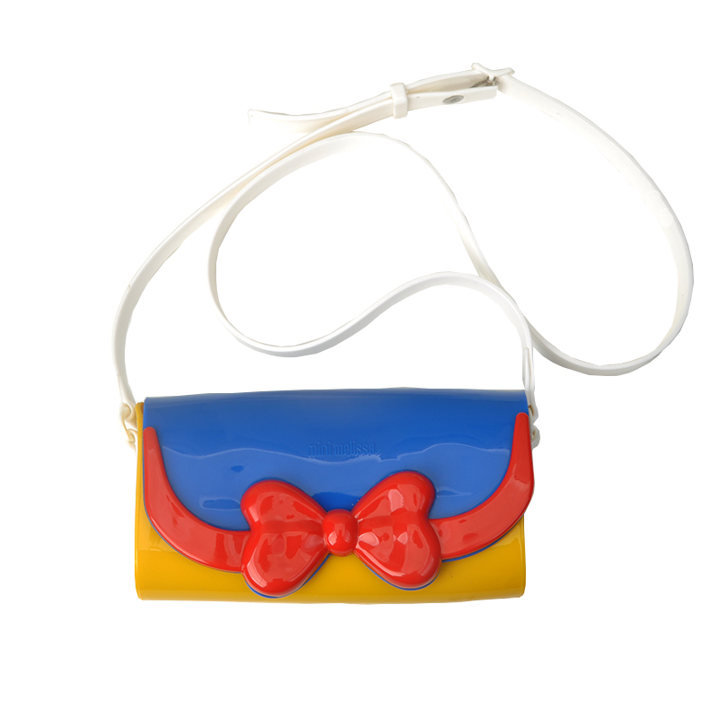 Mini Melissa Cute Bag Mickey Minnie 2020 Original Girl Jelly Shoes Bag With Sandalsparent-child bag 4 color gold/red/blue/black