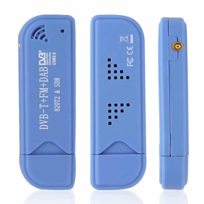 EDAL USB 2.0 ソフトウェアラジオ DVB-T RTL2832U + R820T2 SDR デジタル TV 受信機スティック技術