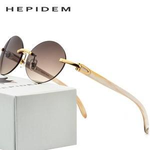 7f5580deaa01 WEARKAPER Buffalo Horn Glasses Carter Glasses Frame Rimless ...