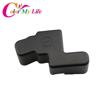 Color My Life Car Battery Negative Protection Cover Frame Clip Case ABS Plastic Covers for Honda ODYSSEY 2015 2016 2017 Parts image