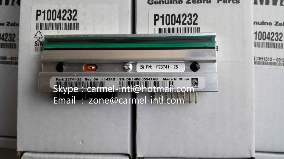 P1004232 - Zebra 110Xi4 / ZE500-4 Printhead, Print Head 300 DPI  new compatible barcode printhead printer head free shipping new compatible zebra s600 printhead g44998 1m oem s600 printhead printer head 203dpi barcode printer head