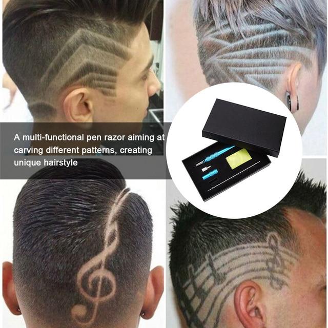 Profesional tallar barba tijeras de pelo virutas de afeitar las cejas  tallar pluma tijeras tatuaje tijeras 632a0fba636d