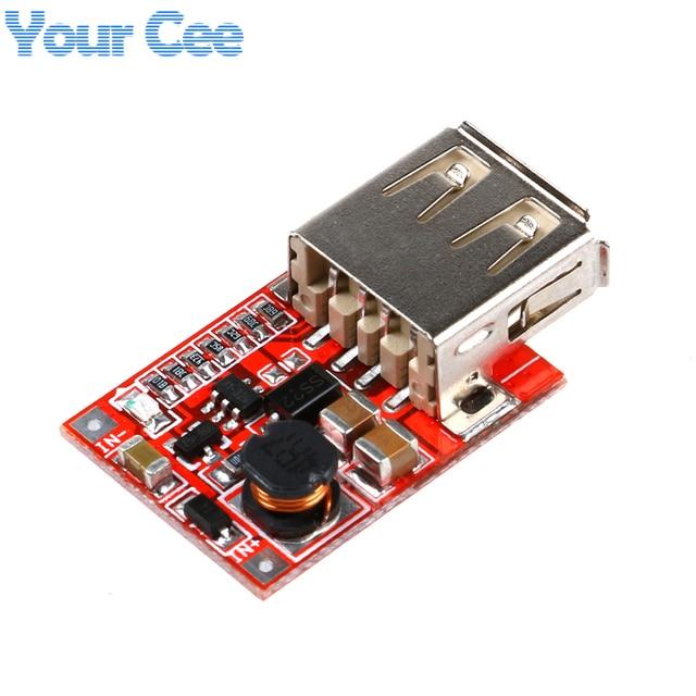 DC-DC Конвертер Выход Step Up Повышение Модуль Питания 3 В до 5 В 1A USB Зарядное Устройство Для Телефона MP3 MP4 96% эффективность