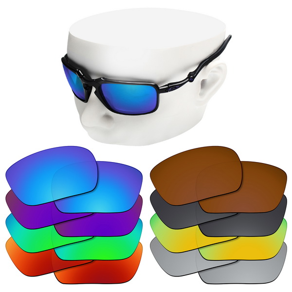 OOWLIT Polarized Replacement Lenses For-Oakley Badman OO6020 Sunglasses