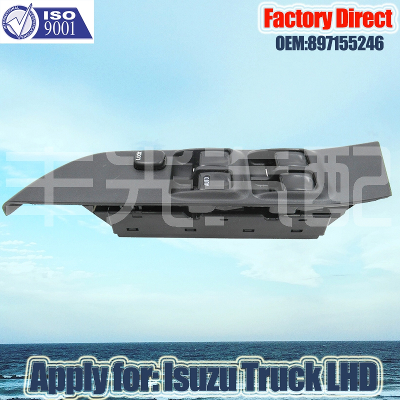 Factory Direct LHD Window Regulator Switch Auto MASTER POWER WINDOW SWITCH Apply for Isuzu TFR. UCR PICKUP LHD Left Driver Side