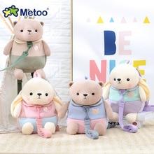 30cm Metoo Stuffed Plush Animal Kids Baby Bags Cartoon Doll Toy Children Shoulder Bag for Kindergarten Rabbit Plush Backpacks
