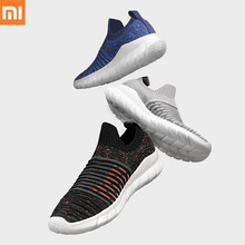 Xiaomi FREETIE Flying Woven Sports Shoes Lightweight Ventilated Elastic Knitting Breathable Running Sneaker For Man