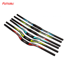 Фотография FUTURE Full Carbon MTB Bike Handlebar Mountain Road Bicycle Handle Bar Guido Vtt Carbone Bicicleta Parts Accessories 3 Color