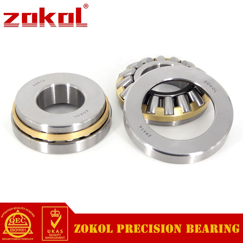 ZOKOL bearing 29413 Thrust spherical roller bearing 9039413 Thrust Roller Bearing 65*140*45mm цена