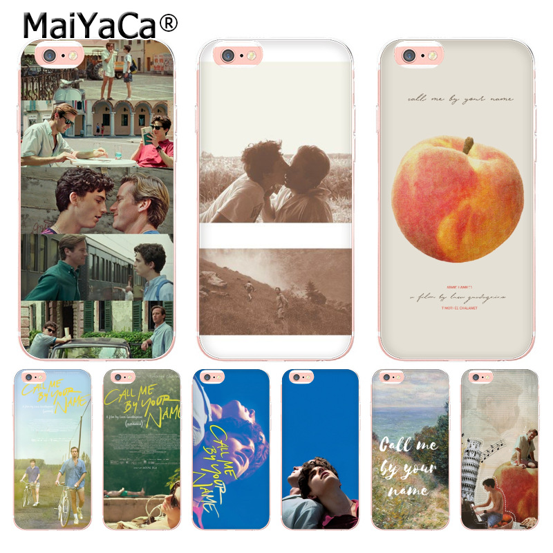 coque iphone 8 call me by your name