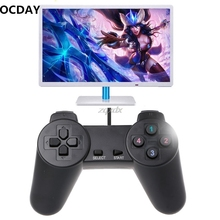 OCDAY USB 2.0 Gaming Gamepad Joystick Wired Game Controller For Laptop Computer PC Z16 Drop ship
