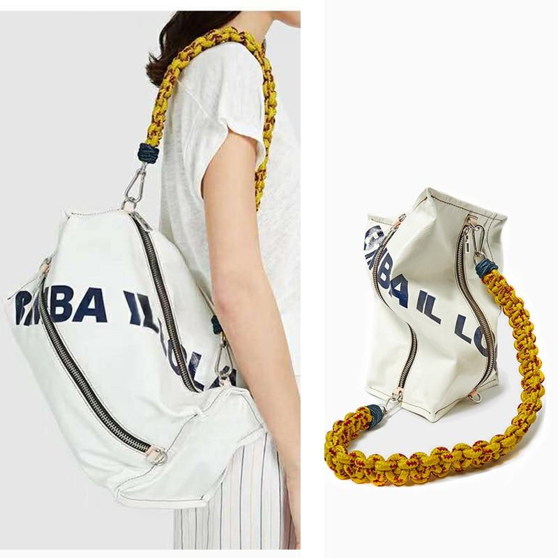 Casual rope crossbody bag