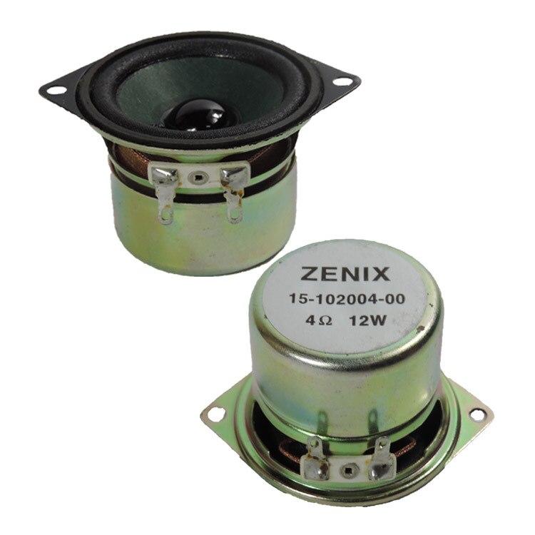 2pcs 12 W 4 Ohm 2 Inch 52mm Full Range Speaker Diy Hifi Loudspeaker For Car Stereo Home Theater Audio Speakers Gamut Good For Antipyretic And Throat Soother Speakers Bookshelf Speakers