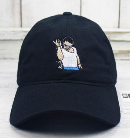 Prix pour SEL BAE Meme Papa Chapeau Brodé Casquette de baseball Bec Recourbé emoji mode chapeau loisirs chapeau CASQUETTE chapeaux casquette de baseball ca