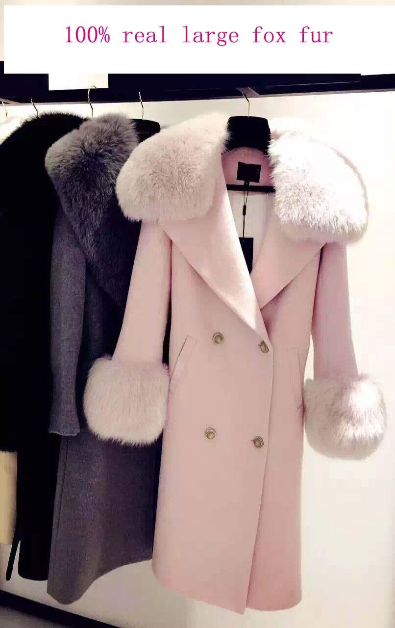 Eleganter mantel rosa