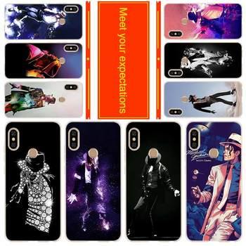 Coque de téléphone pour Xiaomi Redmi 8a 7a 6a 5a 5plus 4x Note 8 7 6 5 9 5a pro 8t couverture Michael jackson danse musique