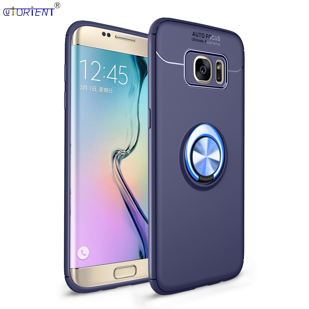 3a8e3b53ac3 For Samsung Galaxy S7 Edge G935 Metal Finger Ring Case SM G935F G935S  G935FD G935A G935T G935P G935X Car Holder Stand Full Cover-in Fitted Cases  from ...