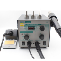 Quick 706W+ 110V 220V Hot Air Gun BGA Rework Solder Station