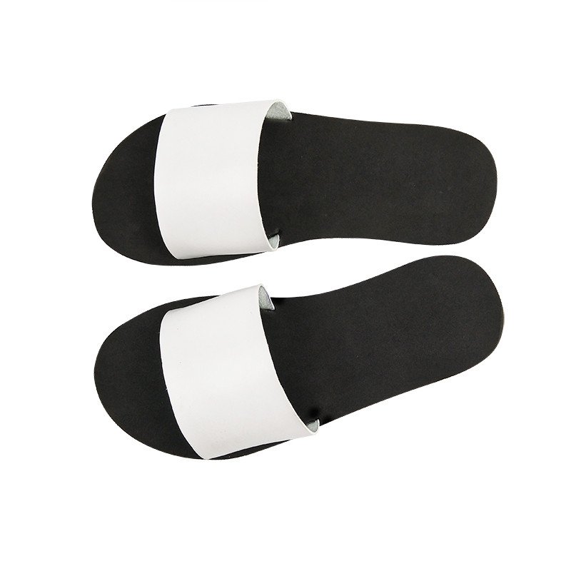 Women Beach Slippers Flip Flops Peep Toe Sandals Flat Slides Sandals Female Ladies Casual Summer Leather Slippers Shoes Women hot fashion summer women shoes women s metal c flat sandals female summer slippers flip flops ladies beach sandals femme chinelo