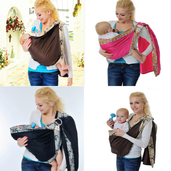 2016 New Design Ring Baby Sling New Born Cradle Baby Wrap Carrier