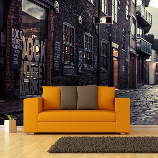 Aliexpress.com : Buy 3D Europeu0027s Streets Mural Wallpaper City Buildings Full  Wall Murals Print Decals Home Decor Photo Wallpaper From Reliable Photo ...