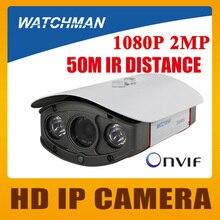 Цена завода H.264 P2P Onvif 2 Мегапиксельная 1080 P обнаружения движения Открытый Металл Ip-камера Пули