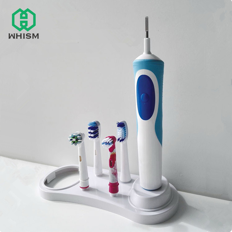 WHISM Electric Toothbrush Holder for Electric Toothbrush Support Teeth Brush Head Case Bathroom Toothbrush Stand image