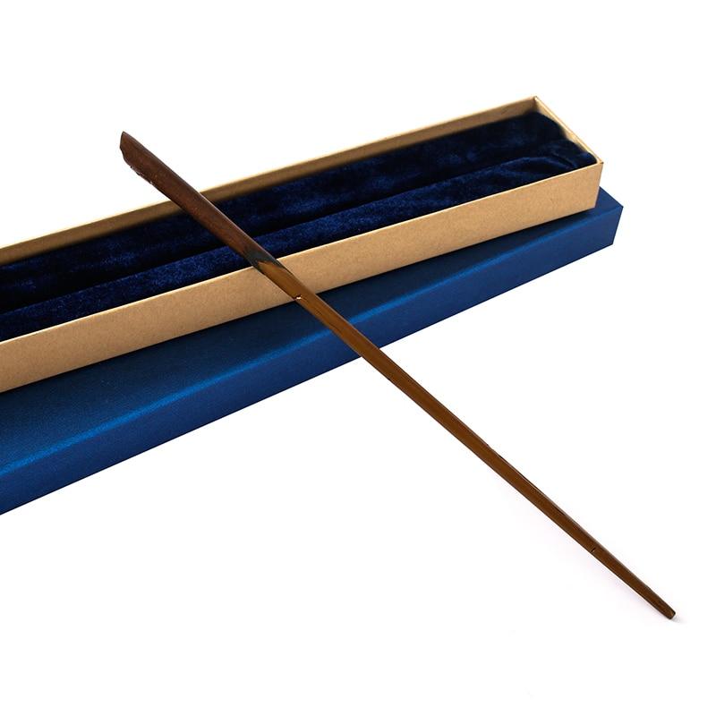 2017 colsplay фокусы металл/гладить core Эдди Волшебная палочка/Гарри Поттер Magic волшебная палочка высокое качество упаковка подарочная коробка