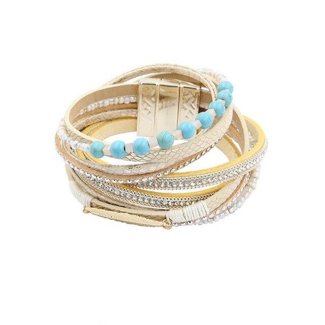 Bracelet PU Leather...