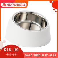 xiaomi-stainless-steel-pet-dog-bowl-puppy-cats-food-drink-water-tilted-feeder-with-base-pets-supplies-non-slip-feeding-dishes