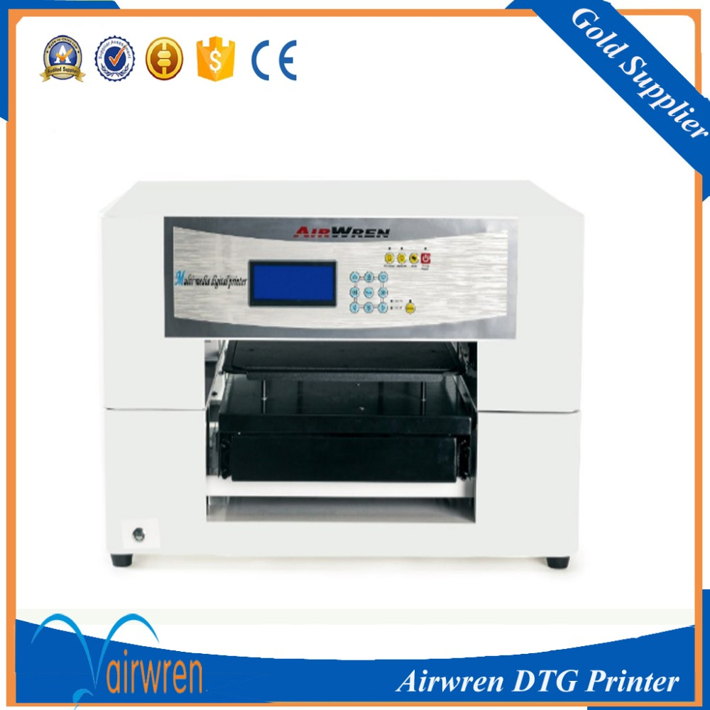 Ce approved high quality t shirt printing machine a3 size for T shirt printing franchise
