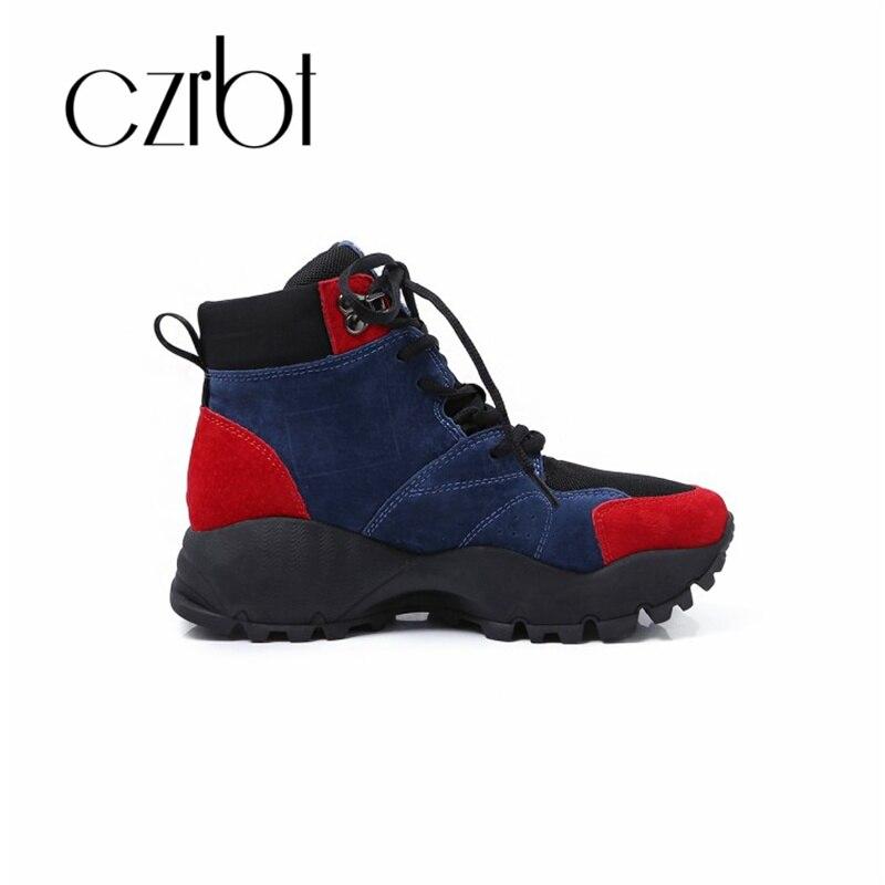 Femmes Vente Casual Chaude En Cuir Mesh Cheville 2018 Or Czrbt Mode Véritable Respirant Nouvelle Chaussures Confortable Sport orange Bottes wqHtE6I