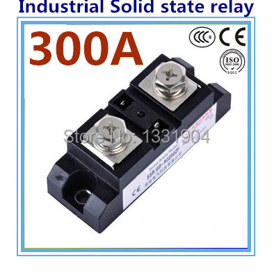 DC to AC SSR-H300ZF 300A SSR relay input DC 3-32V output AC660V industrial solid state relay