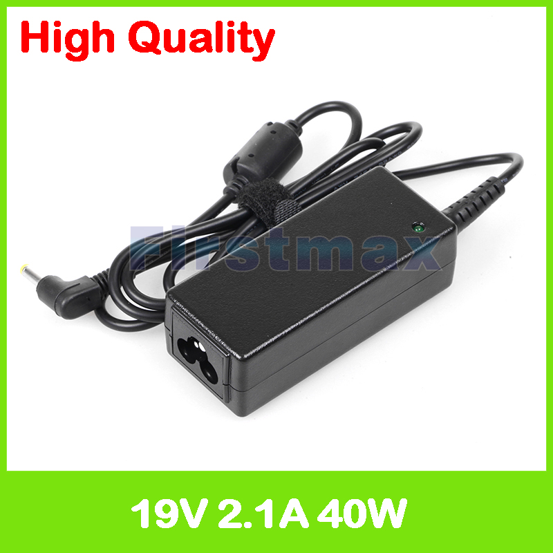 19V 2.1A 40W laptop AC power adapter supply for HP Mini 110 210 1000 1100 for Compaq Mini 700 charger 19v 9 5a ac adapter tpc ba50 power charger for hp 200 5000 200 5100 200 5200 aio envy 23 1000 23 c000 23 c100 23 c200