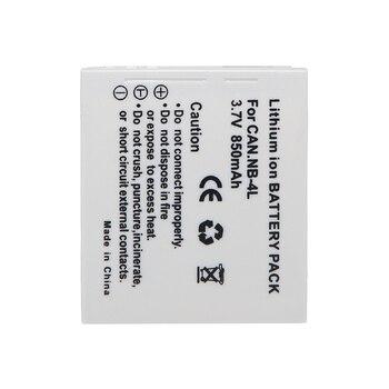 Nueva batería para cámara digital NB-4L NB4L Paquete de batería para Canon IXUS 60 65 80 75 100 I20 110, 115, 120, 130 es 117, 220, 225, 230, 255 HS