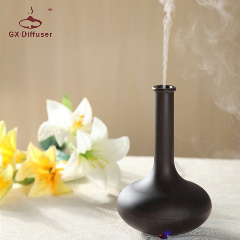 GX.Diffuser 2017 Hot Sale 7 LED Lights Ultrasonic Air Humidifier Mist Maker Electric Aroma Diffuser Essential Oil Aromatherapy hot sale humidifier aromatherapy essential oil 100 240v 100ml water capacity 20 30 square meters ultrasonic 12w 13 13 9 5cm