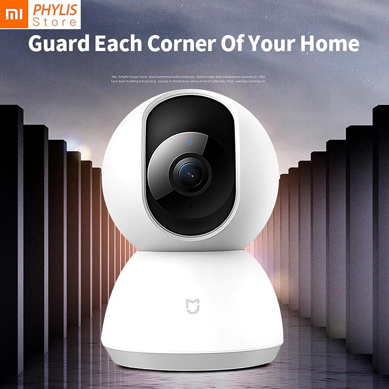 Original Xiaomi MiJia  Smart Camera 1080P 360 Degrees IP Camera Night Vision  Home Panoramic WiFi  Kamera appareil photo g6 tactical smartwatch