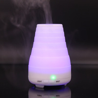 LED Air Humidifier Mini Electric 7 Color LED Lights Household Aromatherapy Essential Oil Diffuser Essential Oil