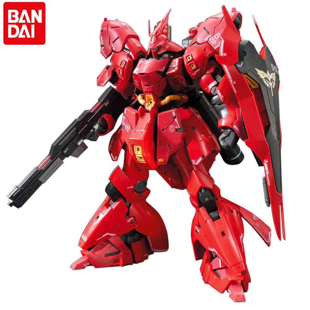 Bandai Gundam Original Japanese RG 1/144 Action Figures Assemble Toy for Children Christmas New Year Present HGD-230363 new arrive 1 pc japanese black metal alloy heavy blade sword accessorie for 1 144 hg rg mg unicorn gundam action figure toy