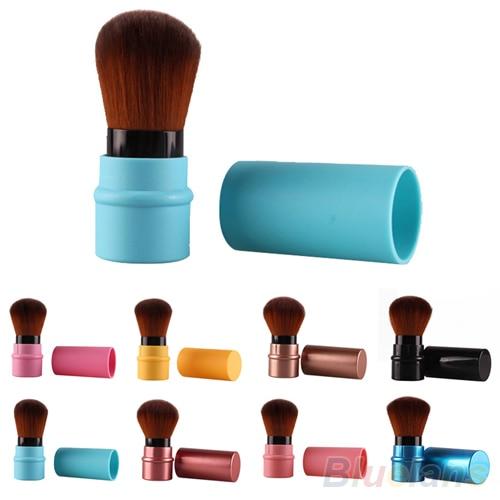 HotFashion Retractable Blush Blusher Foundation Face Powder Cosmetic Makeup Brush 7CN1 8VE4