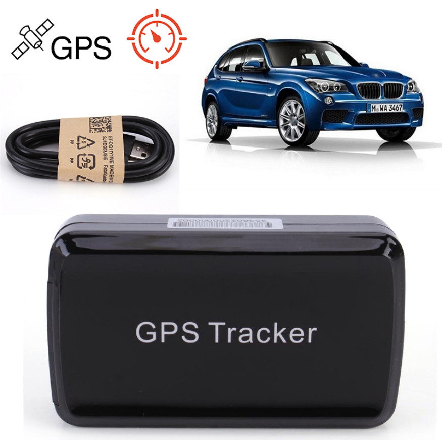 Small GPS Tracker GPS / LBS / GSM / GPRS Tracker Long Standby Built-in Magnetism 4000mA Battery Data Logging Geo-fence Alarm
