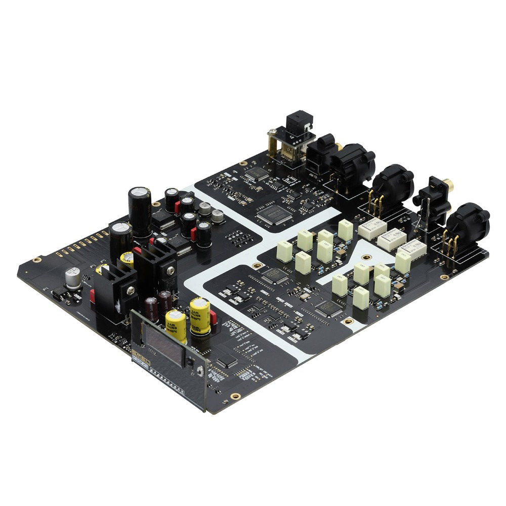SMSL ВМВ D1 высокого класса Pure USB ЦАП чипов 2 * ESS ES9038 PRO Hi-end PCM768 DSD512 XMOS Поддержка оптический коаксиальный USB Вход RCA и XLR Ou