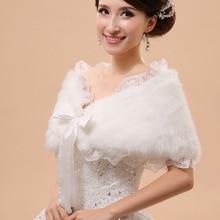 Bride Cape Jacket Dress-Accessories Shawl Wedding-Outerwear Winter Formal Autumn Hot-Sell