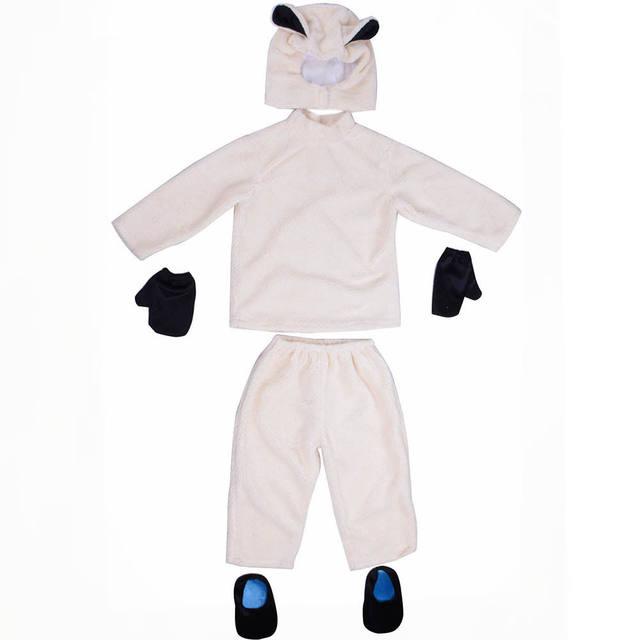 Boys Halloween Sheep Jumpsuit