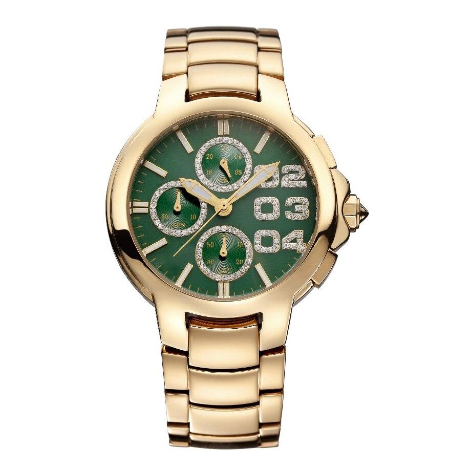 New Famous PB Brand Rose Steel Band Watch Princess Butterfly Luxury Women Crystal Watch Lady Sapphire Rhinestone WristWatch