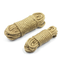 BDSM Sex Toys Hemp Cotton Rope Bondage Handcuff Foot Ankle Chain Cord Guiding Ad